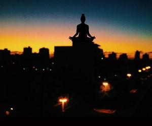 peace, shiva, and sky image