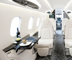 luxury, plane, and white image