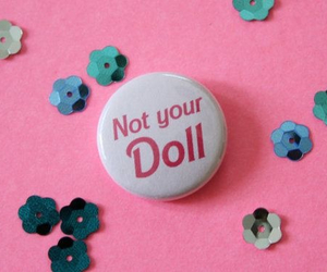 doll, pink, and not your doll image