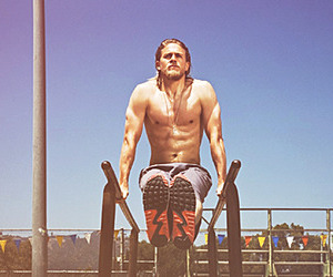 Charlie Hunnam, sexy, and sons of anarchy image