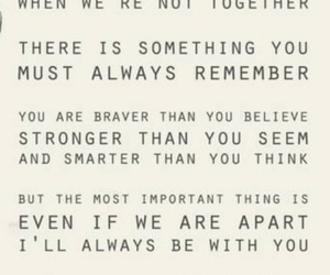 loved, never alone, and quotes image