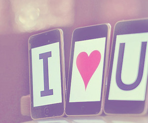 love, I Love You, and iphone image