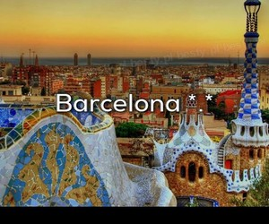 Barcelona, spain, and city image