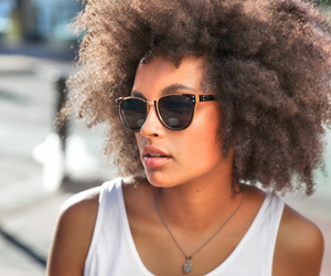 Afro, curls, and model image