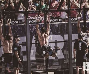 crossfit, games, and gym image