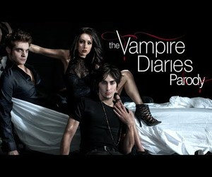 parody, the hillywood show, and Vampire Diaries image