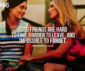 friends, gossip girl, and quote image