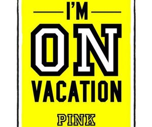 pink, love, and vacation image