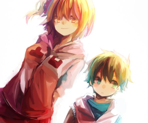 momo, hibiya, and kagerou project image