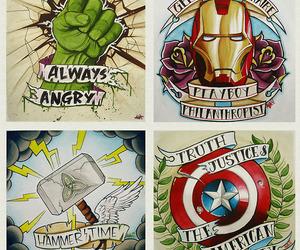 Hulk, thor, and Avengers image