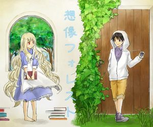 mary, anime couple, and kagerou project image