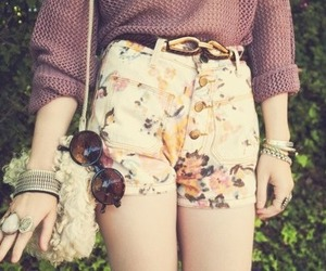 fashion, vintage, and shorts image