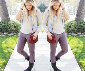 blonde, coachella, and fashionista image