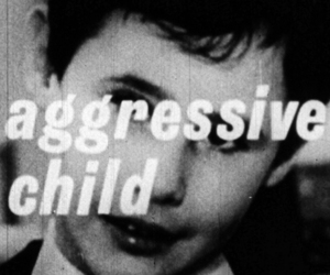 aggressive, child, and black and white image