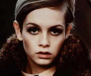 twiggy, model, and grunge image