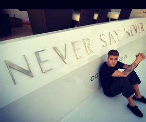 justin bieber, never say never, and justin image