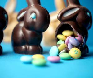 bunny, candy, and chocolate image