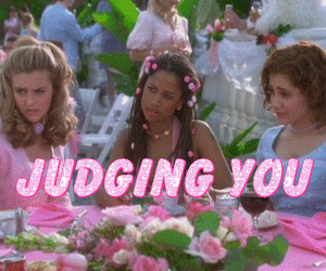 Clueless, cher, and pink image