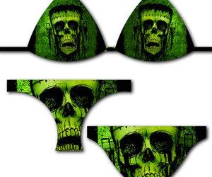 bikini, gothic, and Frankenstein image
