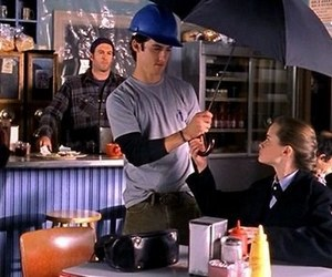 gilmore girls, rory, and jess image