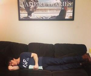 ian somerhalder, damon salvatore, and the vampire diaries image