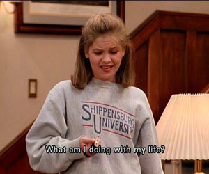 quotes, life, and full house image