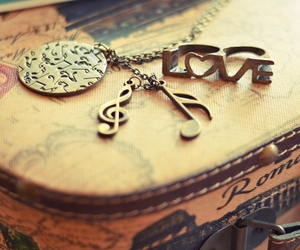love, music, and vintage image
