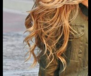 beautiful, hairstyle, and hair wave image