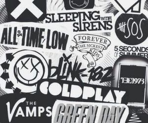 band, nirvana, and coldplay image