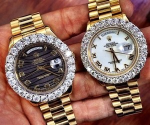 beauty, rich, and watch image