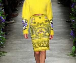 yellow, Givenchy, and model image