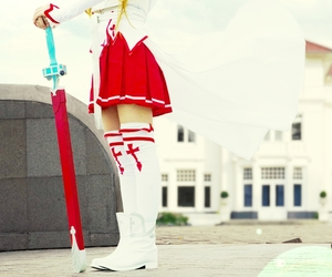 fashion, anime cosplay, and sword art online cosplay image