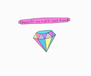 diamond, pink, and friends image