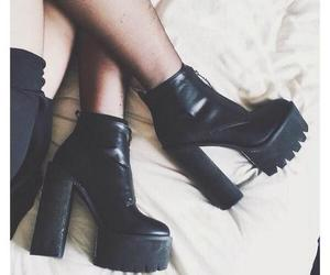 fashion, grunge, and boots image