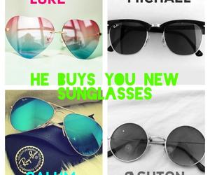 boyfriend, sunglasses, and preferences image