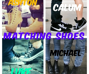 matching, matching shoes, and shoes image