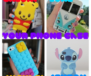 lego, phone, and Pooh bear image