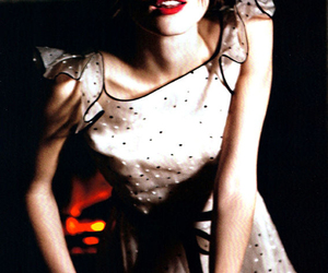 fashion, keira knightley, and red lips image