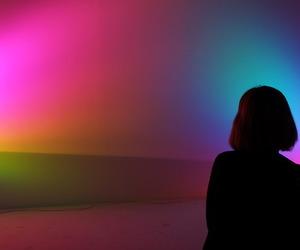 girl and light image