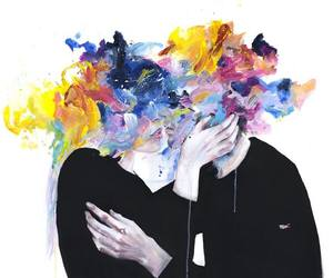 colors, art drawing, and agnes cecile image
