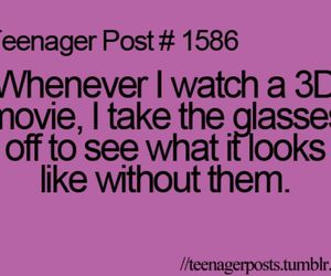 teenager post and 3d image