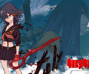 kill la kill, anime, and ryuko image