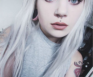 beauty, piercing, and bomb image
