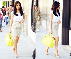 kim kardashian, fashion, and bag image