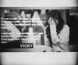 quotes, vicky, and geordie shore image