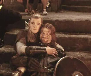 lord of the rings, orlando bloom, and sean bean image