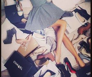 shoes, chanel, and dress image