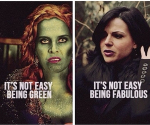 once upon a time, wicked, and the evil queen image