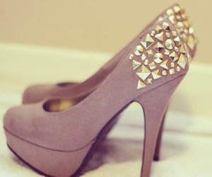 heels, shoes, and party image