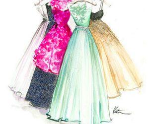 amazing, dress, and fashionable image